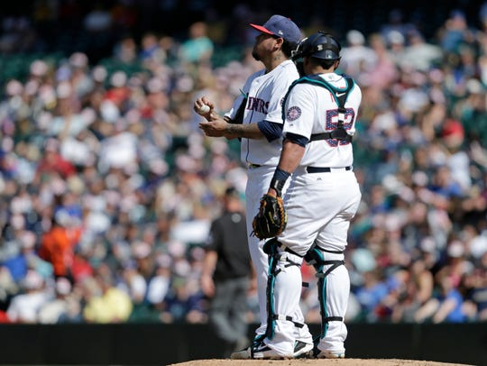 Felix Hernandez and the Mariners have struggled during