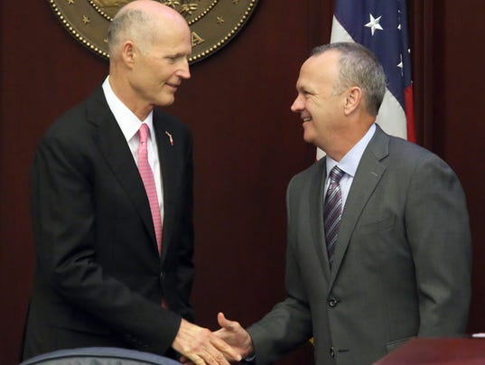 Rick Scott, Richard Corcoran