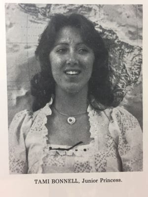 As documented in Tularosa High School's 1978 yearbook, Tammie Jo Shults, née Bonnell, was named junior princess.
