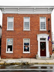 Coffee, Teas, and Thee is shown from South Pershing on Wednesday, Feb. 17, 2016. The tearoom, which owner Mary Malott opened in Jan. 2014 after her husband died, is participating in its first Restaurant Week York this year.