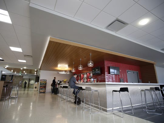 Appleton International Airport's new ATW Cafe and Bar is part of a $6.5 million renovation that is ongoing. Danny Damiani/USA TODAY NETWORK-Wisconsin