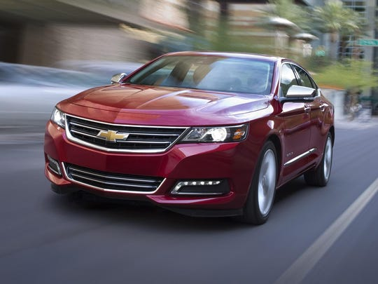 The Chevrolet Impala is Consumer Reports' Top Pick for large car.