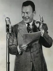 Fred Allen, considered one of radio's funniest comedians,