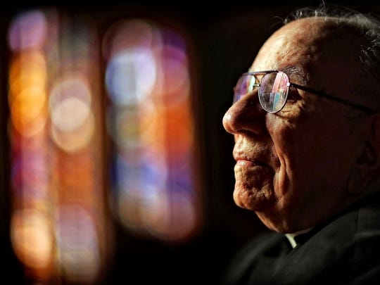 Father Nicholas Vieron, 92, who is somewhat retired from Annunciation Greek Orthodox Church will offer hishumor-laced teachings, wisdomand ideas to Memphisat least one more year with aweekly adult Greek classthat starts on Martin Luther King Day.