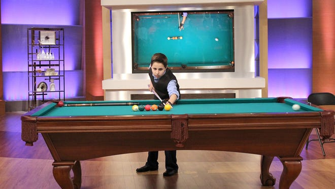 """14-year-old Matthew Webber, Fishers, is a pool shark known as """"The Stinger."""""""