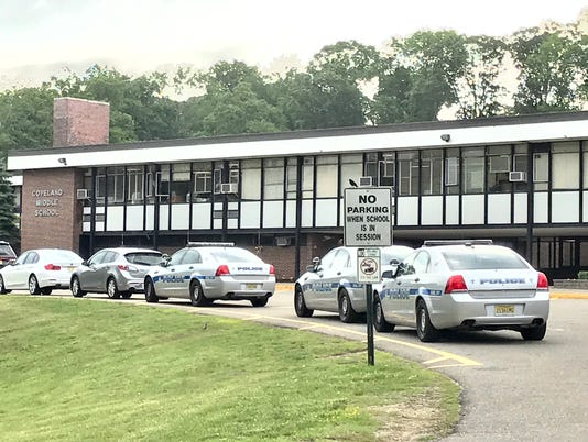 Police presence at Copeland Middle School