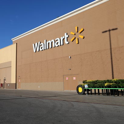 Pictured is the Walmart at 4650 S. Emerson Ave., just
