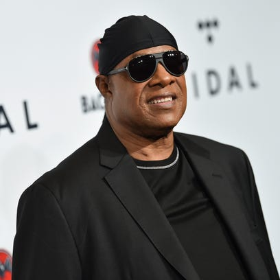 FILE - In this Oct. 17, 2017 file photo, Stevie Wonder
