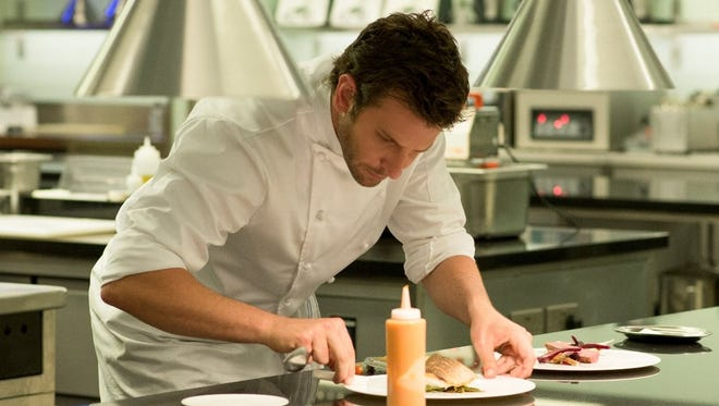 "Bradley Cooper is a chef looking for redemption in the new kitchen drama ""Burnt."""