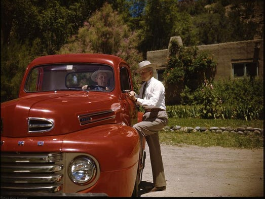 On Jan. 16, 1948, the Ford Motor Co. publicly revealed the iconic F-1 pickup, beginning the F-Series legacy of best-selling tough trucks.