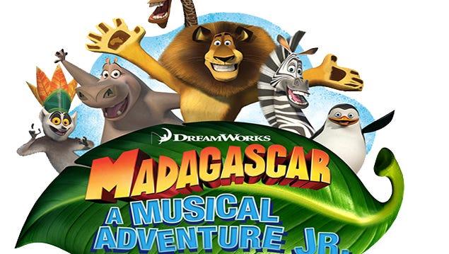 Madagascar 'A Musical Adventure Jr.' logo