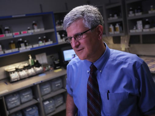 Dr. Paul Offit, chief division of infectious disease