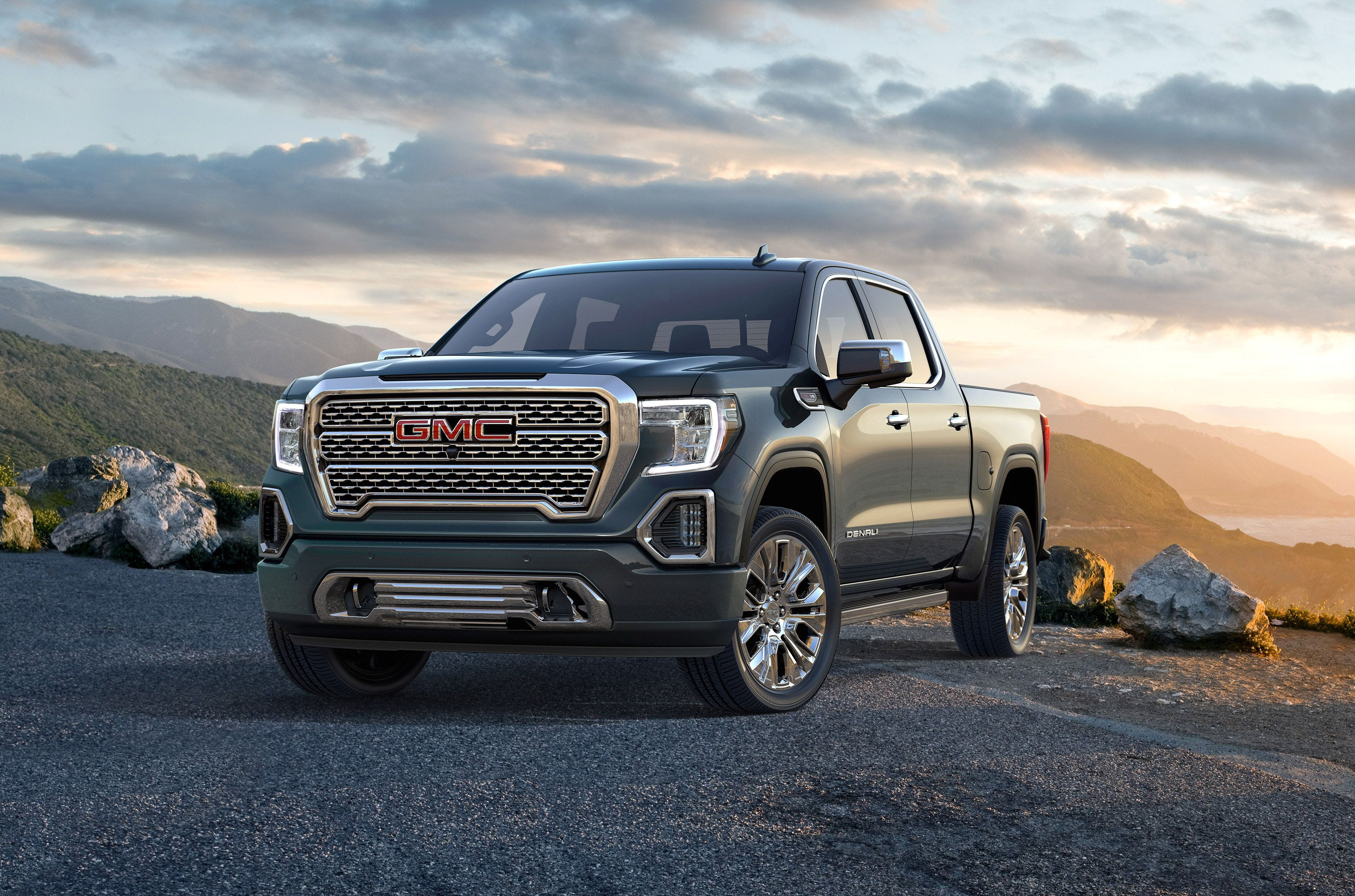 gmc sierra pickup truck redesigned with tricked out tailgate carbon rh usatoday com