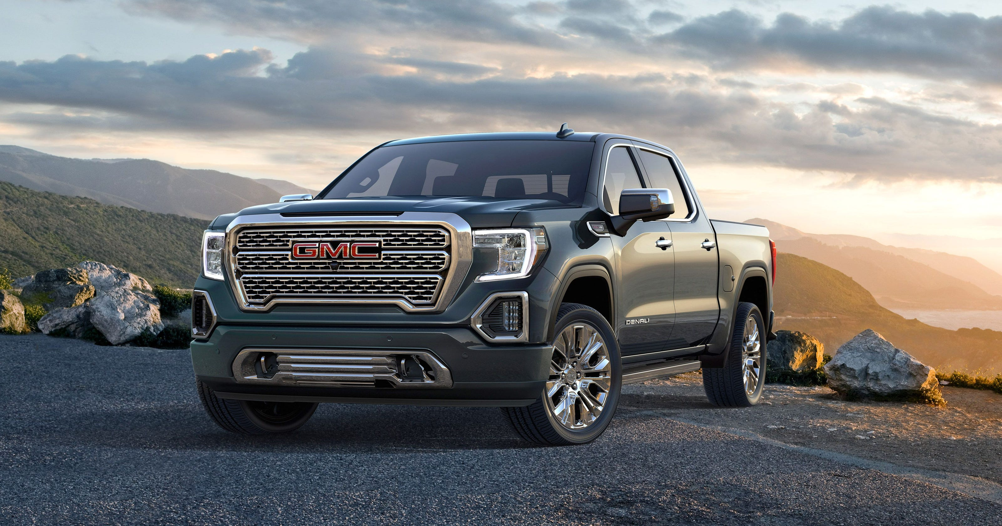 Gmc Sierra Pickup Truck Redesigned With Tricked Out Tailgate Carbon