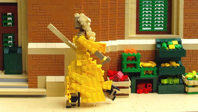 "Legoland Discovery Center Westchester's Veronica Watson recreated scenes from Beyoncé's ""Lemonade"" entirely out of LEGO."