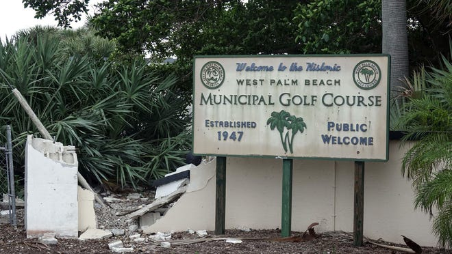 West Palm Beach Municipal Golf Course, in 2019.