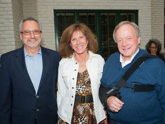 L-r, Detroit Zoological Society CEO, Ron Kagan, Cynthia