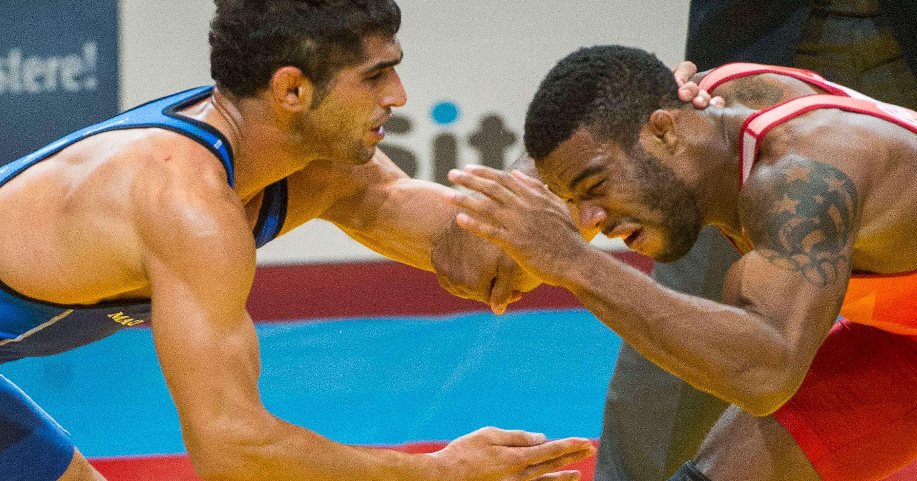 a11d83b4616aa5 USA s Jordan Burroughs wins 2nd world wrestling title