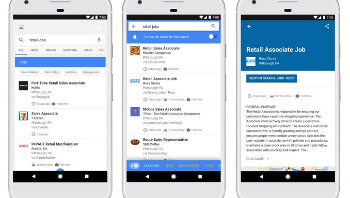 Google is incorporating your job search into Google