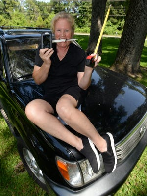Melanie Johnson can not get through the day without her five necessary luxuries. Her Toyota Land Cruiser, OXO tape measure, a Heckles parring knife, her iPhone and favorite Uniball pen.
