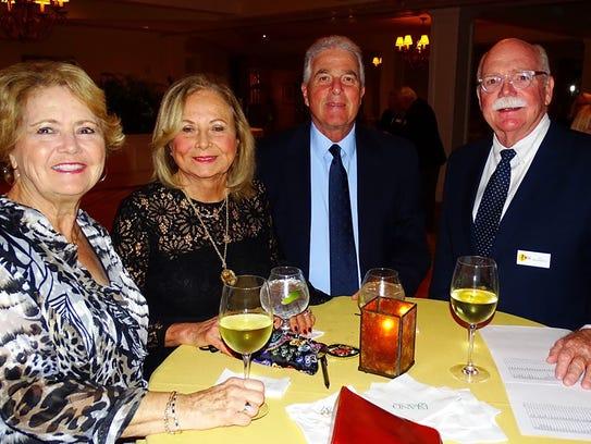 Ginny Bauersfeld, Carol, Charles Schwalje and Edward