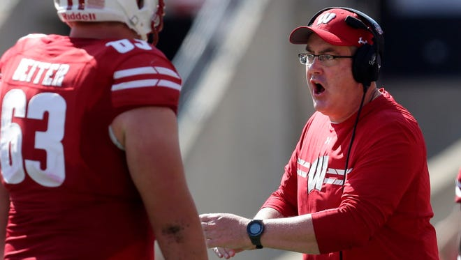 Wisconsin coach Paul Chryst's focus will be on Indiana and not the College Football Playoff rankings.