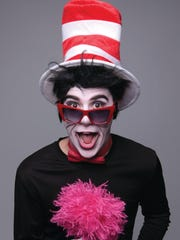 The Cat in the Hat is featured in Seussical, the Musical, which is playing this weekend.