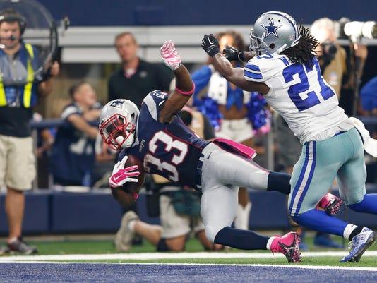 NFL: New England Patriots at Dallas Cowboys