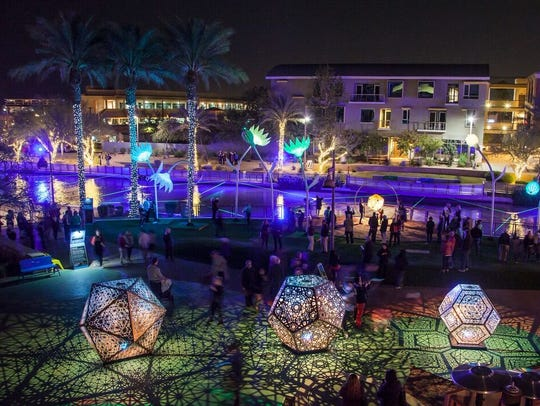 Canal Convergence: Water + Art + Light is the annual