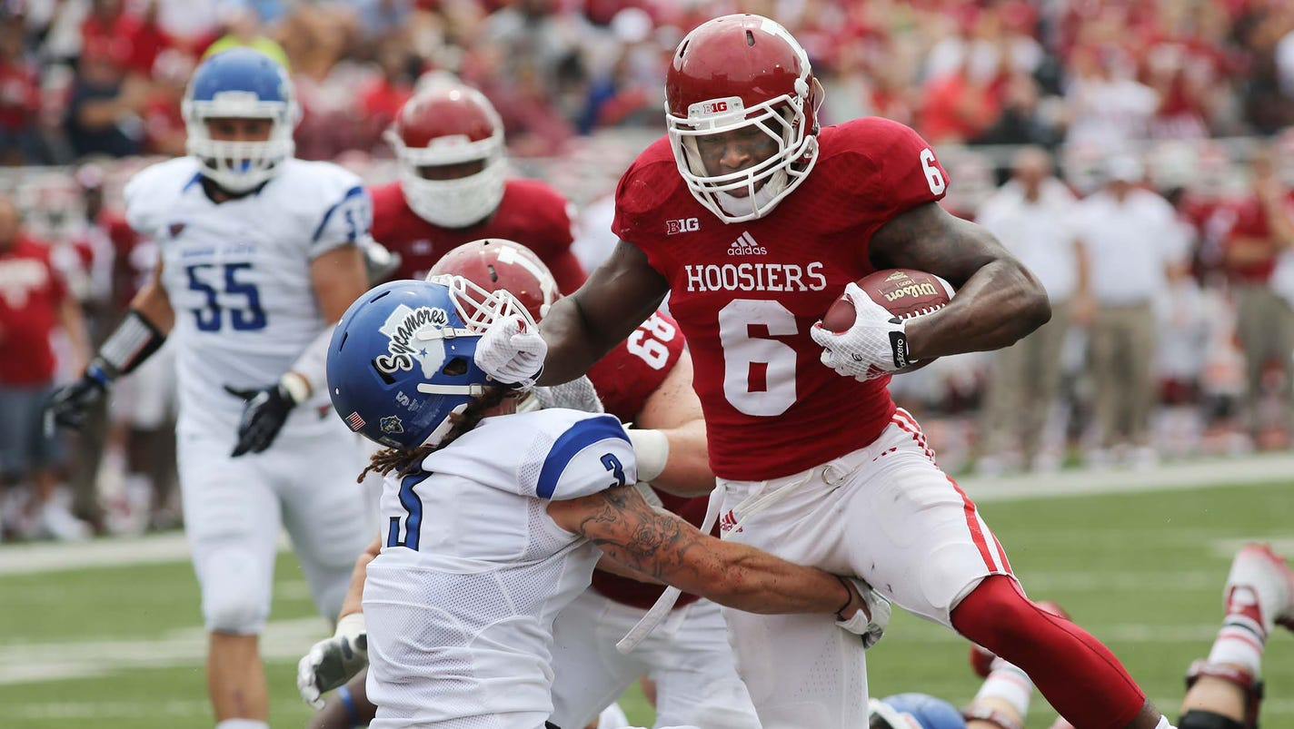 Tevin Coleman runs wild as Hoosiers defeat Indiana State 28 10