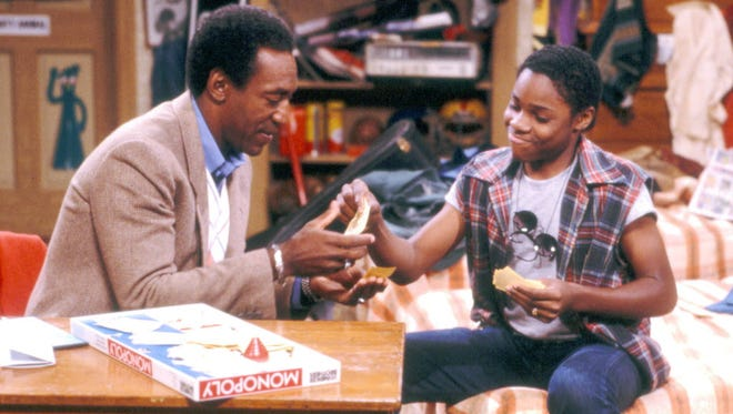 """Bill Cosby and Malcolm Jamal-Warner on """"The Cosby Show."""""""