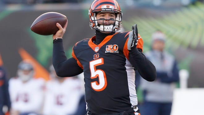 A.J. McCarron signed a two-year deal with the Bills.