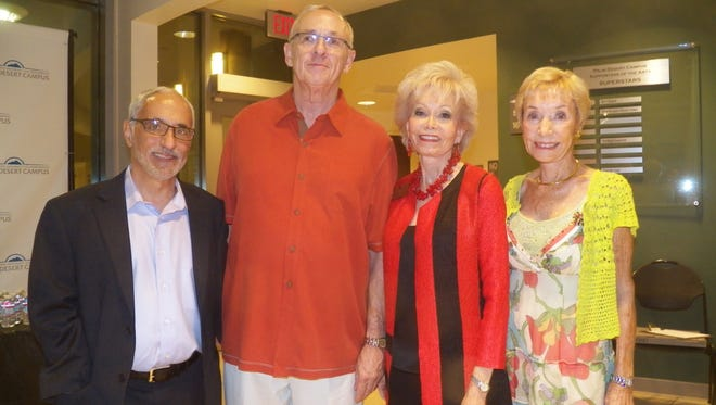 Joe Giarrusso, Bob Poehling, Rev. Patty Spicer and Mary Ellen Blanton