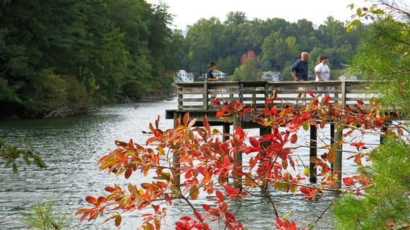 Lake James State Park was voted No. 10 out of the top 100 fishing and boating spots in the country by TakemeFishing.org.