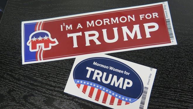 Bumper stickers have been making their way through Southern Utah in recent weeks ahead of the 2016 presidential campaign.