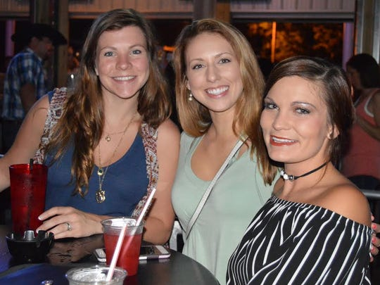 Girls night out Megan Walters, Allie Lamping and Lindsey Arnett were spotted at the New KC's Marina Pointe waiting to see Pittsburgh Dance Band RADIO TOKYO.