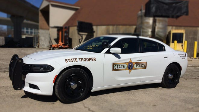 Illinois State Police arrested Robert Sprague, 48, of Roodhouse Sunday morning.