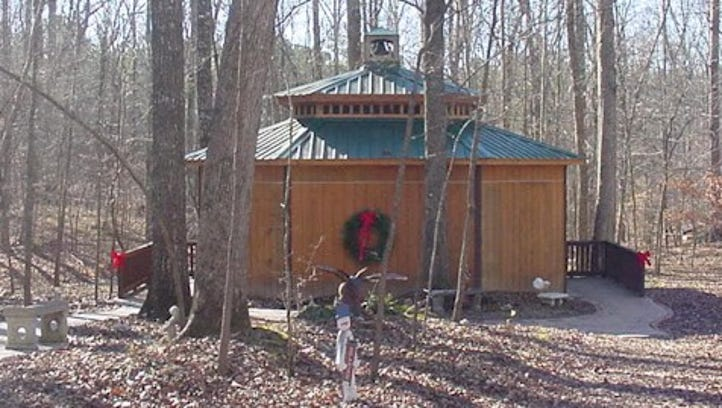 Fairview's Memory Tree in Bowie Nature Park Saturday
