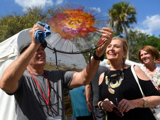 Under the Oaks Fine Arts & Crafts Show is in its 67th