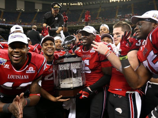 NCAA Football: R&L Carriers Bowl New Orleans-Tulane at UL Lafayette
