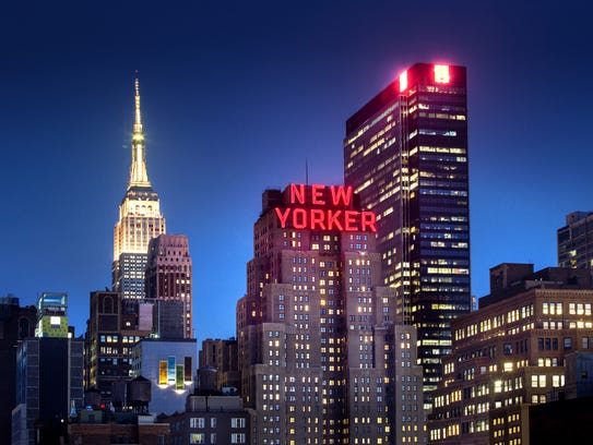 The Wyndham New Yorker is the fourth most in demand