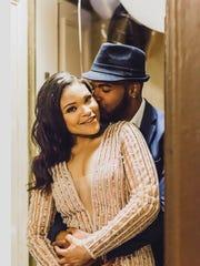 Marissa Blair and Marcus Martin had their engagement