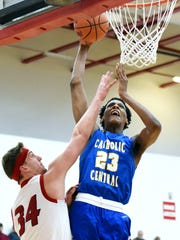 Catholic Central High School senior forward and Michigan