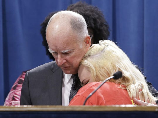 Jerry Brown, Holly Diaz