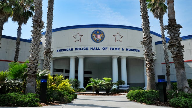 The American Police Hall of Fame and Museum in Titusville.