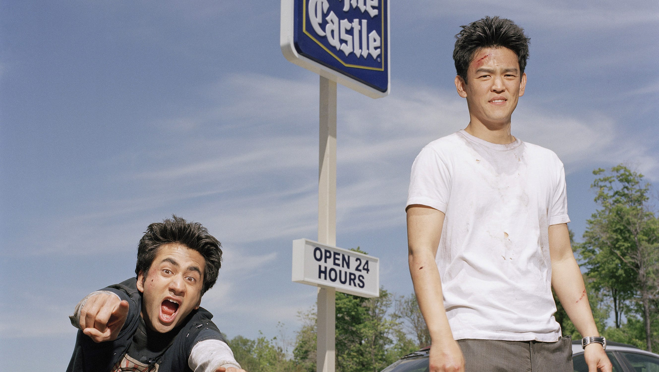 ' Harold and Kumar' didn't get those White Castle burgers but the film did put Kal Penn, left, and John Cho, on the map.