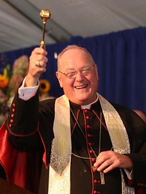 Cardinal Dolan visits Good Samaritan Hospital in Suffern Sept. 22, 2014. He was there to bless the hospital.