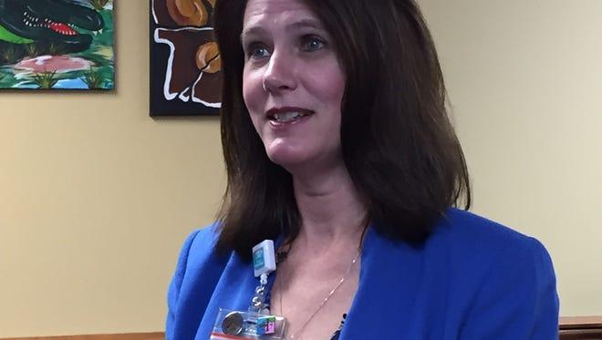 St. Francis Medical Center President/CEO Kristin Wolkart