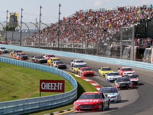 Watkins Glen Race Track >> Watkins Glen NASCAR Sprint Cup race keeps growing
