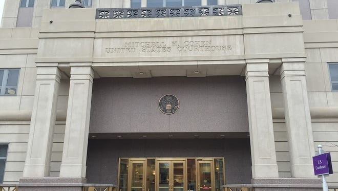 A Pennsylvania woman is accused of making repeated bomb threats at the federal courthouse in Camden.